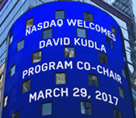 David Kudla rings the Closing Bell