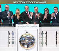 David Kudla rings the Opening Bell
